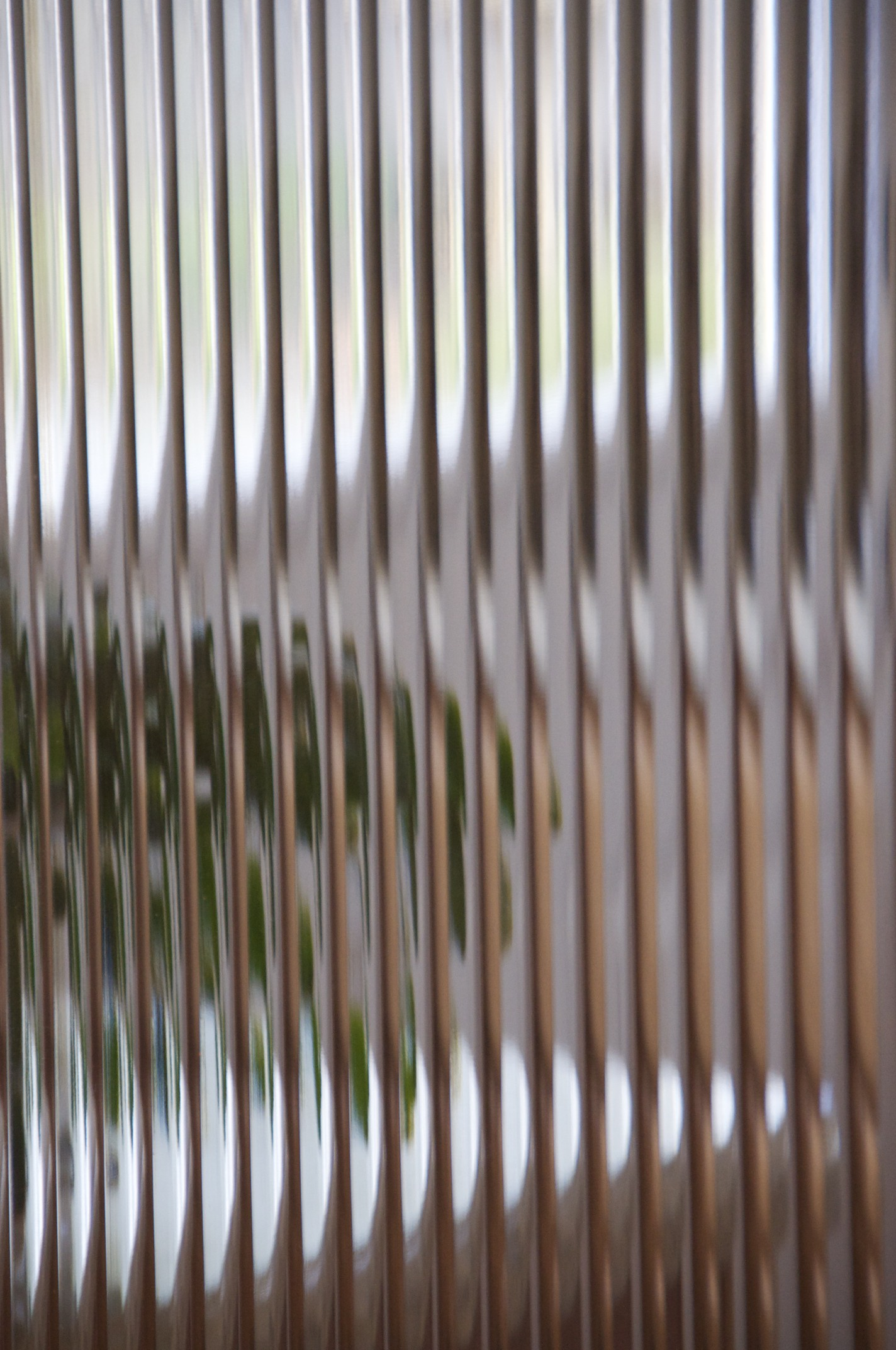 day 9 through a glass wavy in focus daily