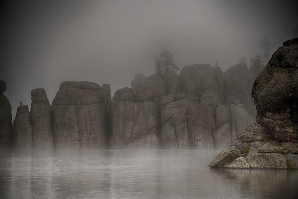Fog Shrouded Sylvan Lake.jpg