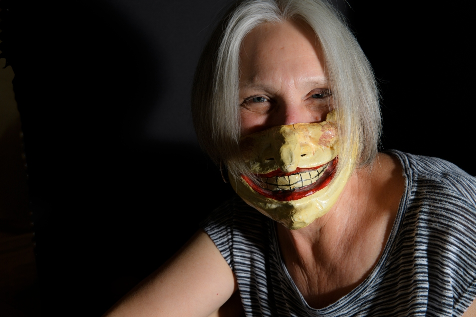 creepy mask nose