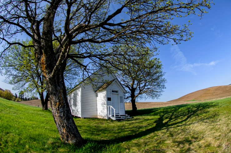 Little church on the knoll 2