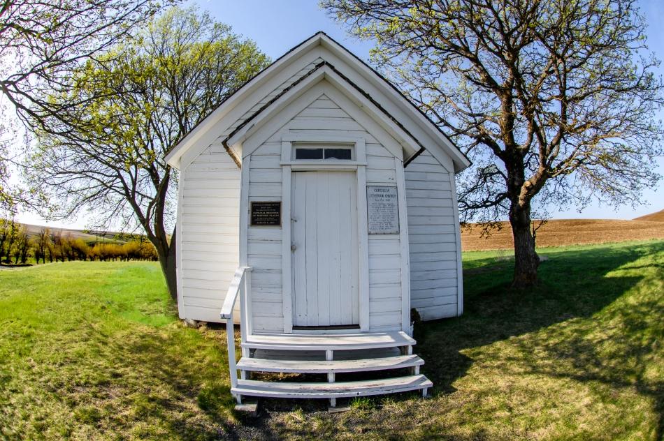 Little church on the knoll